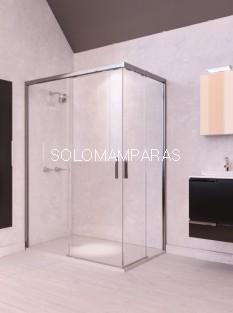 Mampara de ducha ST Austin - Doccia - angular 2 fijos + 2 correderas