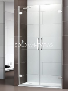 Mampara de ducha Selecta -Deyban- (2 puertas abatibles) 8 mm (antical)