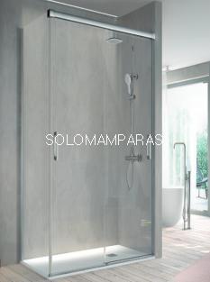 Mampara de ducha -Kassandra- Betty (BT111) (2 puertas correderas) Transparente o con Decorado Bali (Antical)