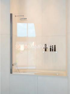 Mampara de bañera ST Hanoi -Doccia- 1 abatible de 90cm