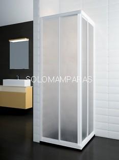 Mampara de ducha ST Viena - Doccia - angular 2 fijos + 2 correderas acrílica