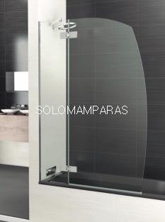 Mampara de bañera Selecta R3 -Deyban- 8 mm (fijo + abatible) antical de 105cm