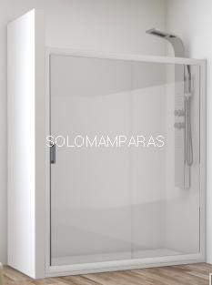 Mampara de ducha Esla (1 fija + 1 corredera) 6 mm
