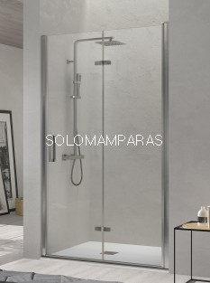Mampara de ducha -Kassandra- Nardi (NA300) 2 puertas plegables (antical Easy Clean)