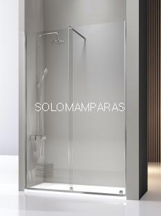 Mampara de ducha -Kassandra- Volare (VO102) 1 fija + 1 corredera, 8 mm (antical)
