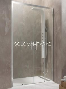 Mampara de ducha Aktual Spazio -GME- (2 fijas + 2 correderas) antical