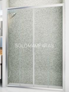 Mampara de ducha Genil -Hidroglass- (2 fijas + 2 correderas) 6 mm