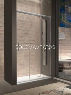Mampara de ducha -Kassandra- Sabina (BN101) 3 puertas correderas (Antical Easy Clean)