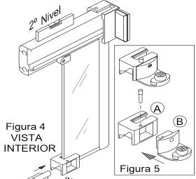 Cómo colocar las piezas inferiores de tu mampara de baño