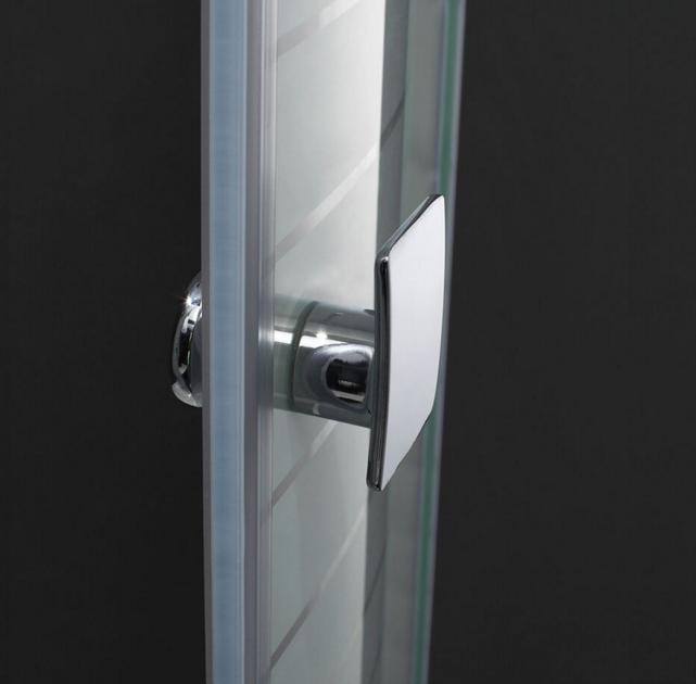Tirador de mampara en aluminio anodizado