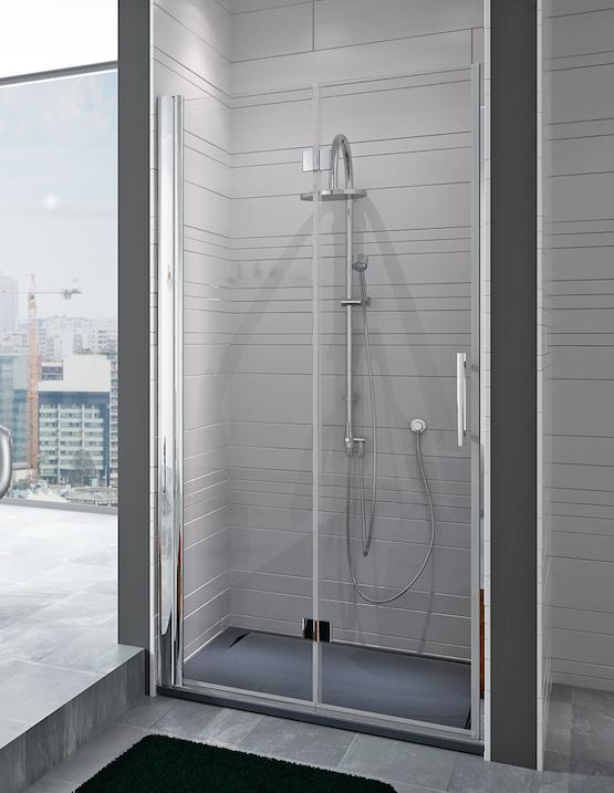 Mampara de ducha plegable Obi de HRM