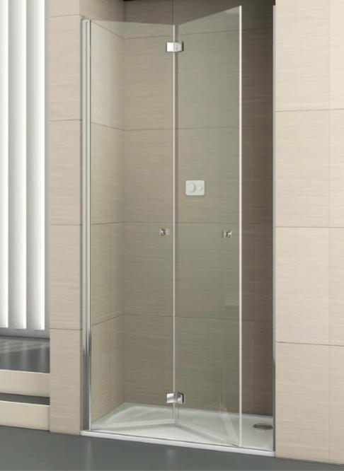 ¿Cómo son las mamparas de ducha plegables nuevas y modernas?