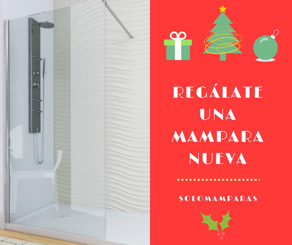 composición de fijo de ducha y motivos navideños