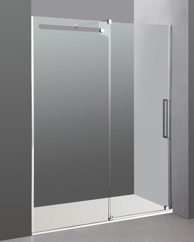 Mampara de corte muy minimalista y moderno Vetrum de GME