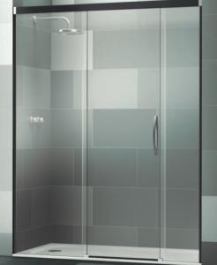 Mampara frontal de ducha Elba Extra de tres puertas