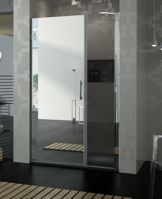 Mamparas con espejo: mix de diseño y funcionalidad