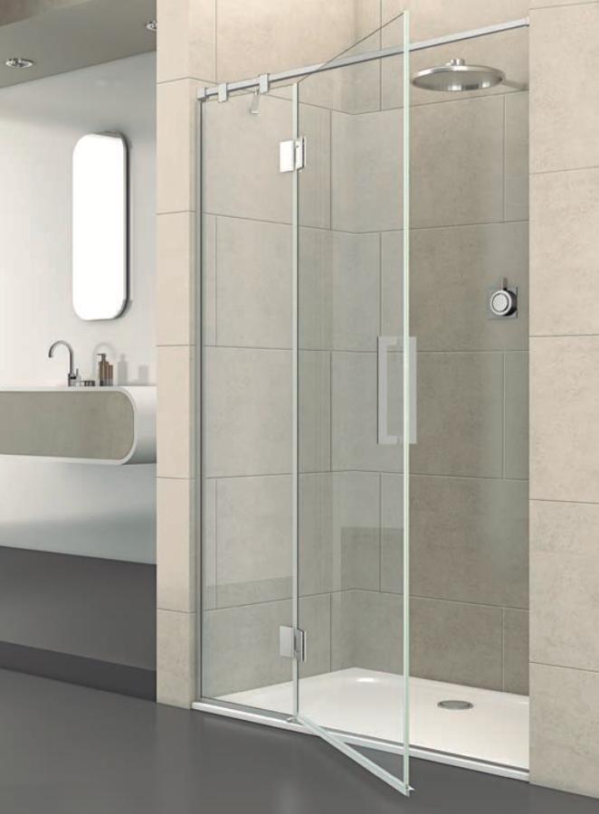 Mampara de ducha frontal Junior de estética minimalista