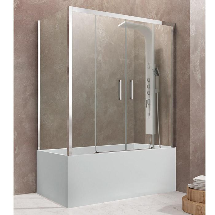 Frontal de bañera con lateral fijo de GME