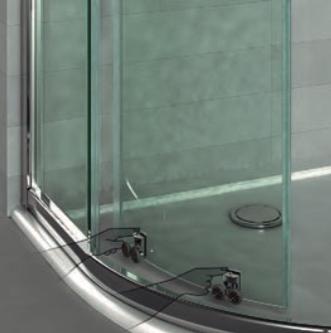 C mo instalar una mampara de ducha semicircular consejos - Instalar una mampara de ducha ...
