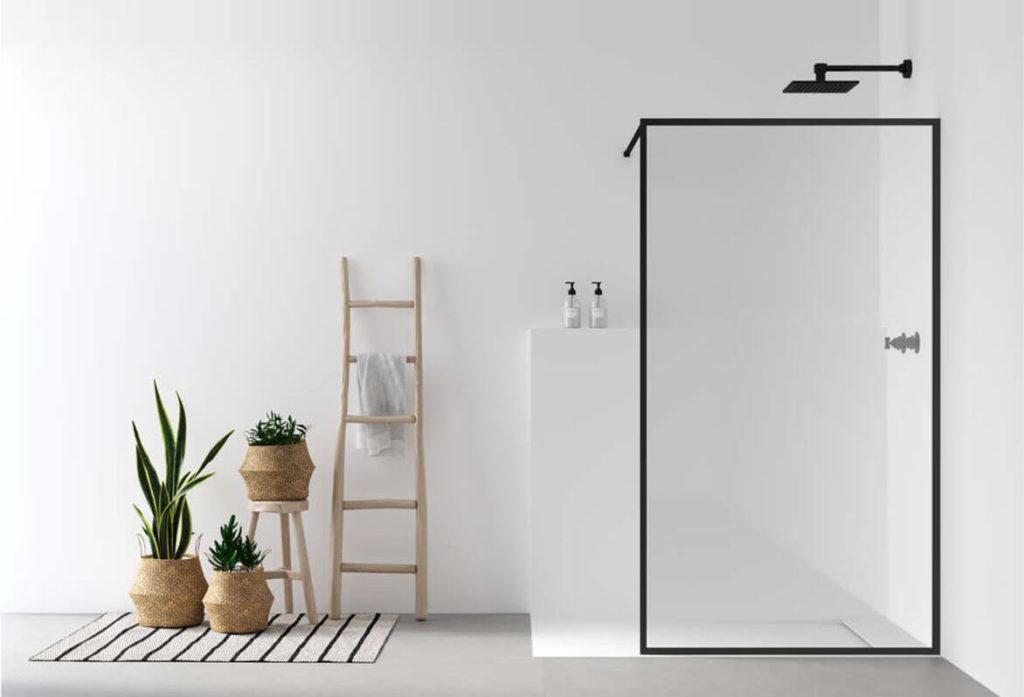 Cuatro tipos de mamparas para ducha