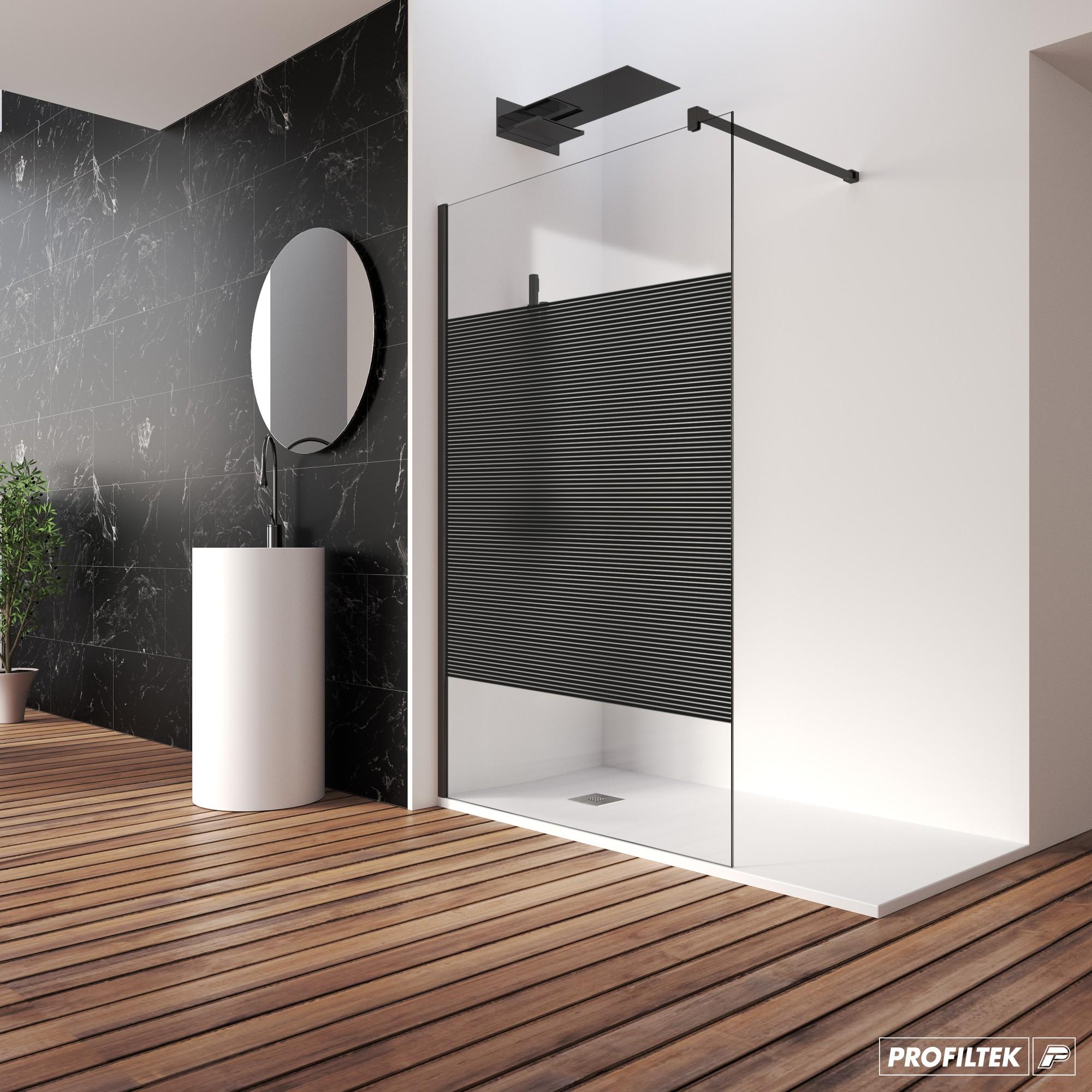 Mampara de ducha fija One, 100% personalizable y 100% tú